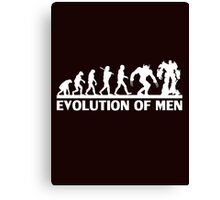 Human and evolution Canvas Print