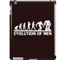 Human and evolution iPad Case/Skin