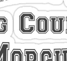 iZOMBIE King County Morgue Sticker