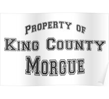 iZOMBIE King County Morgue Poster