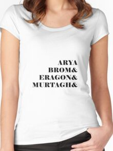 Eragon names Women's Fitted Scoop T-Shirt