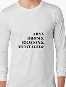 Eragon names Long Sleeve T-Shirt