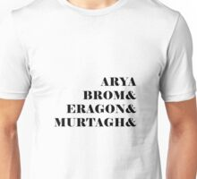 Eragon names Unisex T-Shirt