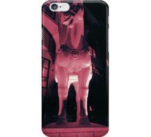 faded trojan horse iPhone Case/Skin