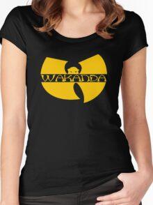 WU-KANDA Women's Fitted Scoop T-Shirt
