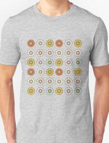 Trendy Colorful Floral Design  Unisex T-Shirt