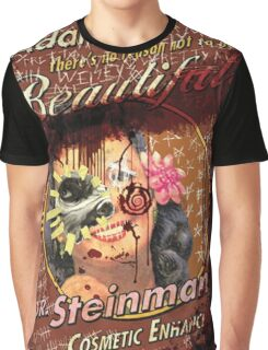 BioShock – Dr. Steinman's Cosmetic Enhancement Defaced Poster Graphic T-Shirt