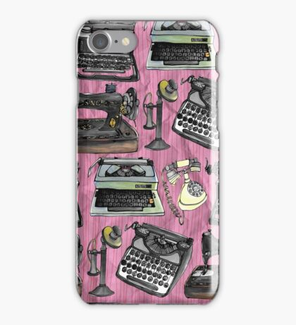 Vintage Technology iPhone Case/Skin