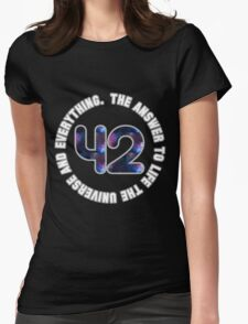 42! Womens Fitted T-Shirt