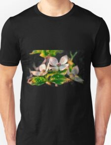 Dogwood Blossoms On A Branch Unisex T-Shirt