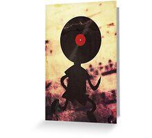 Vinyl Man! Vinylized!!! Vinyl Records DJ Retro Music Lovers T-Shirt Stickers Prints Greeting Card