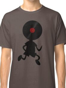Vinyl Man! Vinylized!!! Vinyl Records DJ Retro Music Lovers T-Shirt Stickers Prints Classic T-Shirt