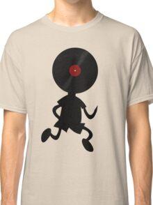 Vinyl Man! Vinylized!!! Vinyl Records DJ Retro Music Lovers T-Shirt Stickers Prints Classic T-Shirt