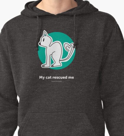 Found Animals I Heart Cats Hoodie Pullover Hoodie