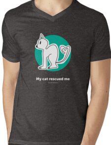 Found Animals I Heart Cats Hoodie Mens V-Neck T-Shirt