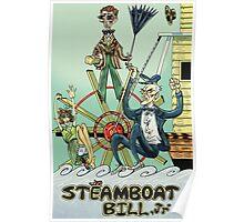 BUSTER KEATON STEAM BOAT BILL! Poster