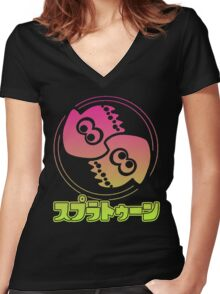 Squid Kids Women's Fitted V-Neck T-Shirt