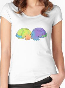 Cuddle Fish Women's Fitted Scoop T-Shirt