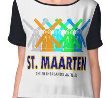 St. Maarten Chiffon Top