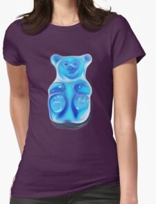 Barry; the Very Berry Flavored Bear Womens Fitted T-Shirt