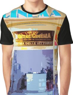 Cinema Graphic T-Shirt