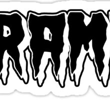 The Cramps Shirt Sticker