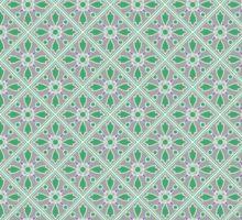 Graphic Flower Pattern Sticker