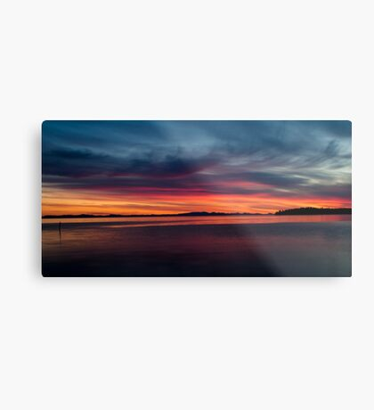 Rolling Sunset Metal Print