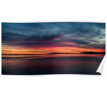 Rolling Sunset Poster