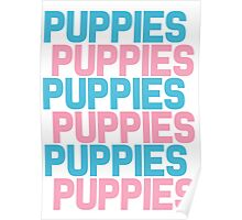 Puppies Overload Poster