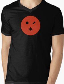 Preacher - Arseface - Red Clean Mens V-Neck T-Shirt