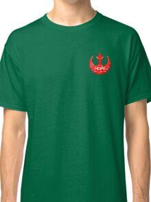 Rebellion Typography Classic T-Shirt