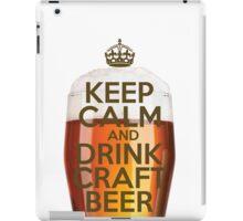 Drink Craft Beer iPad Case/Skin
