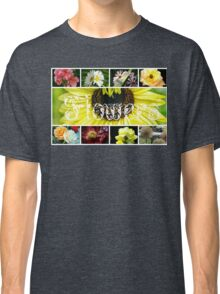 Fancy Flowers Collage Classic T-Shirt