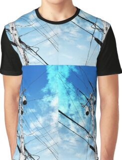 Telephone Pole Graphic T-Shirt