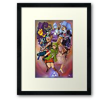 Hyrule Warriors Framed Print