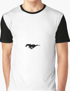 Mustang horse logo Graphic T-Shirt