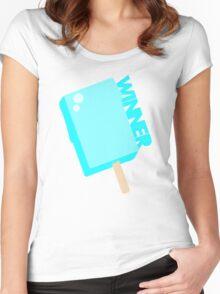 Kingdom Hearts - Winner. Women's Fitted Scoop T-Shirt