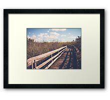 Glade Lane Framed Print