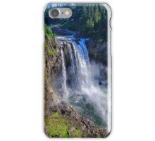 Snoqualmie Falls In Spring iPhone Case/Skin