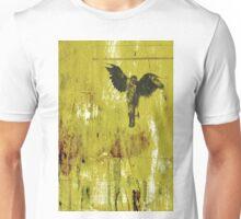 Bird Black Unisex T-Shirt