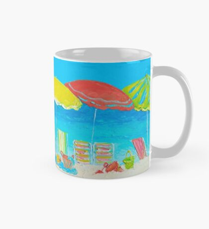 Beach Art - Beach Chairs Mug