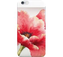 Big Red Poppy iPhone Case/Skin
