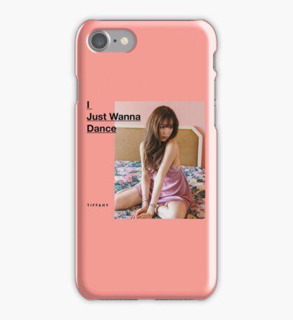 Girls' Generation (SNSD) Tiffany - I Just Wanna Dance iPhone Case/Skin