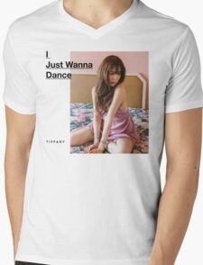 Girls' Generation (SNSD) Tiffany - I Just Wanna Dance Mens V-Neck T-Shirt