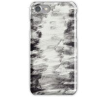 Black Paint Streaks iPhone Case/Skin