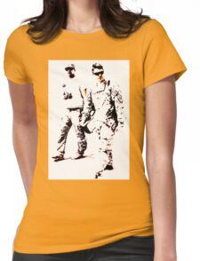 BombFlower Womens Fitted T-Shirt