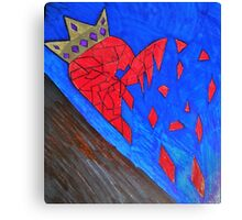 Rich or not I still have a heart.  Canvas Print