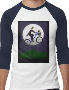 Doctor Phone Home (w/out text) Men's Baseball ¾ T-Shirt