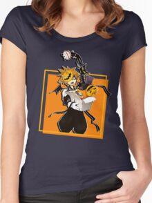 Kingdom Hearts - Sora [Halloween] Women's Fitted Scoop T-Shirt